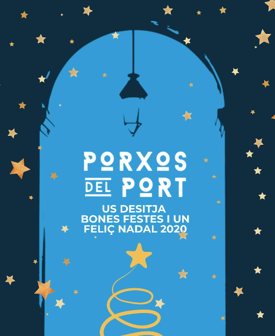 Porxos de Port wishes you a Merry Christmas 2020